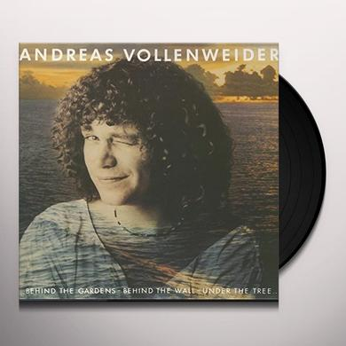Andreas Vollenweider BEHIND THE GARDENS BEHIND THE WALL-UNDER THE TREE Vinyl Record