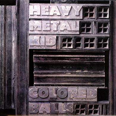 Coloured Balls HEAVY METAL KID Vinyl Record
