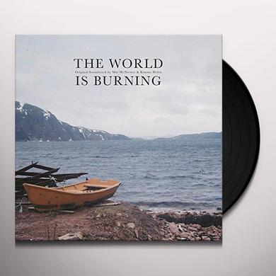 Mat Mcnerney & Kimmo Helen WORLD IS BURNING Vinyl Record