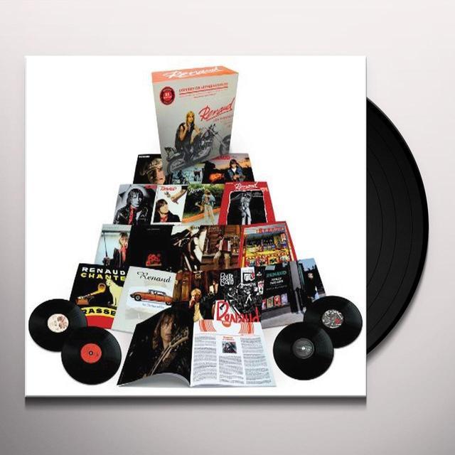 Renaud LES VINYLES: INTEGRALE STUDIO 1975-10 (FRA) Vinyl Record