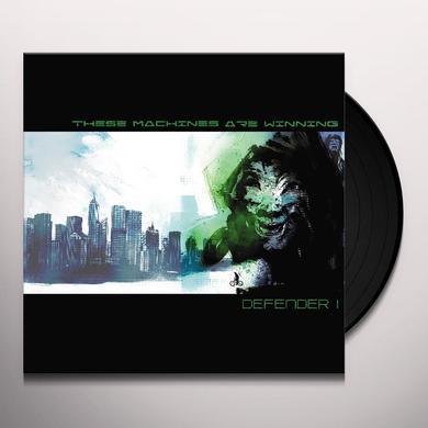 These Machines Are Winning DEFENDER 1 Vinyl Record - w/CD, 180 Gram Pressing