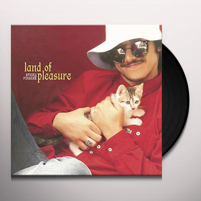 Sticky Fingers LAND OF PLEASURE Vinyl Record