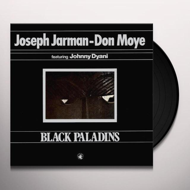 Joseph Jarman / Don Moye BLACK PALADINS Vinyl Record