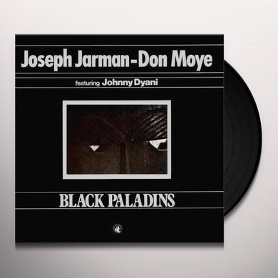 Joseph Jarman / Don Moye BLACK PALADINS Vinyl Record - w/CD