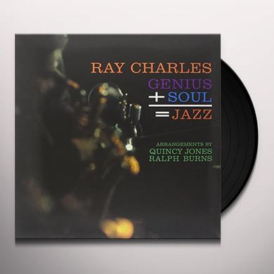 Ray Charles GENIUS + SOUL = JAZZ Vinyl Record