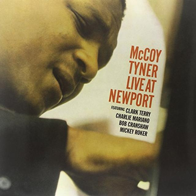Mccoy Tyner LIVE AT NEWPORT Vinyl Record