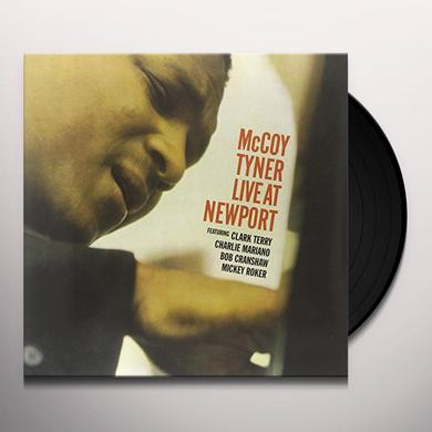 Mccoy Tyner LIVE AT NEWPORT Vinyl Record