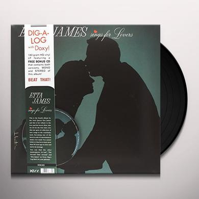 Etta James SINGS FOR LOVERS Vinyl Record - w/CD