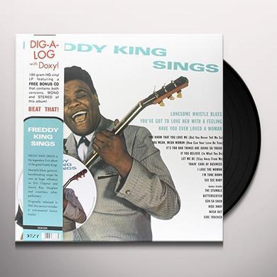Freddie King FREDDY KING SINGS Vinyl Record - w/CD