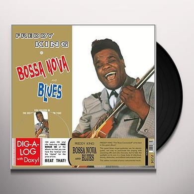 Freddie King BOSSA NOVA & BLUES Vinyl Record - w/CD