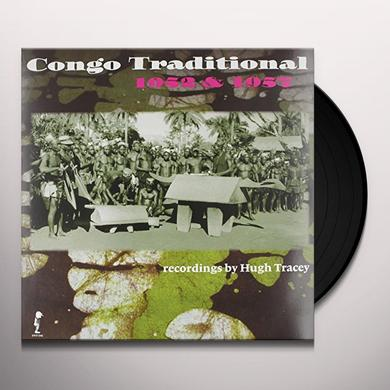 Hugh Tracey CONGO TRADITIONAL 1952 & 1957 Vinyl Record