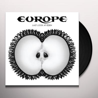 Europe LAST LOOK AT EDEN Vinyl Record
