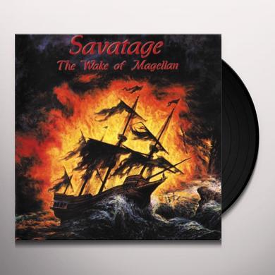 Savatage WAKE OF MAGELLANAE Vinyl Record - UK Import