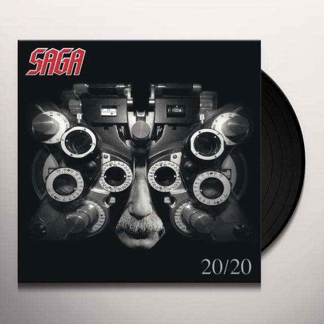 Saga 20:20 Vinyl Record - UK Import