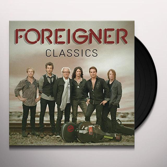 FOREIGNER CLASSICS Vinyl Record - UK Import