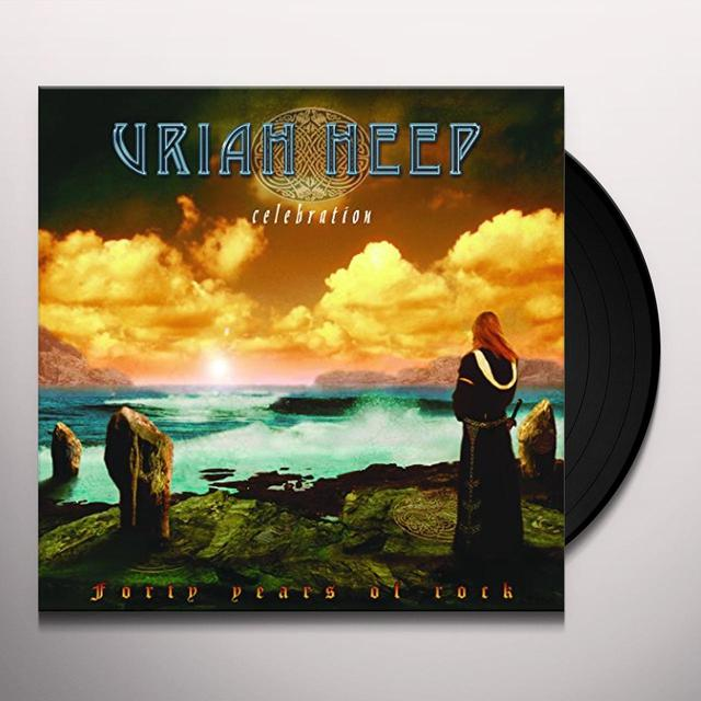 Uriah Heep CELEBRATION Vinyl Record - UK Release