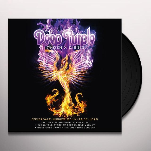 Deep Purple PHOENIX RISING Vinyl Record - UK Import