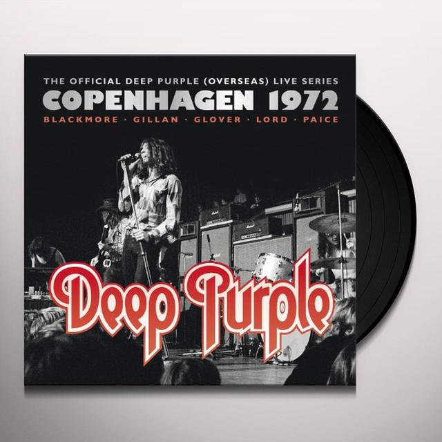 Deep Purple COPENHAGEN 1972 Vinyl Record - UK Release