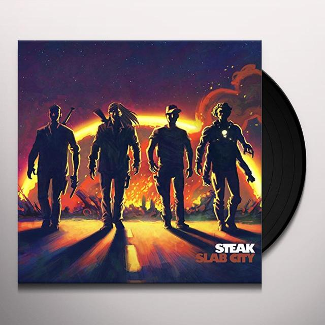 Steak SLAB CITY Vinyl Record