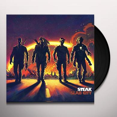 Steak SLAB CITY Vinyl Record