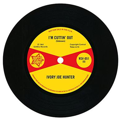 Ivory Joe Hunter I'M CUTTIN' OUT/YOU ONLY WANT ME WHEN YOU NEED ME Vinyl Record