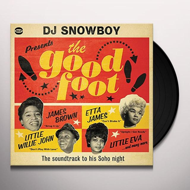 Dj Snowboy Presents The Good Foot / Various (Uk) DJ SNOWBOY PRESENTS THE GOOD FOOT / VARIOUS Vinyl Record