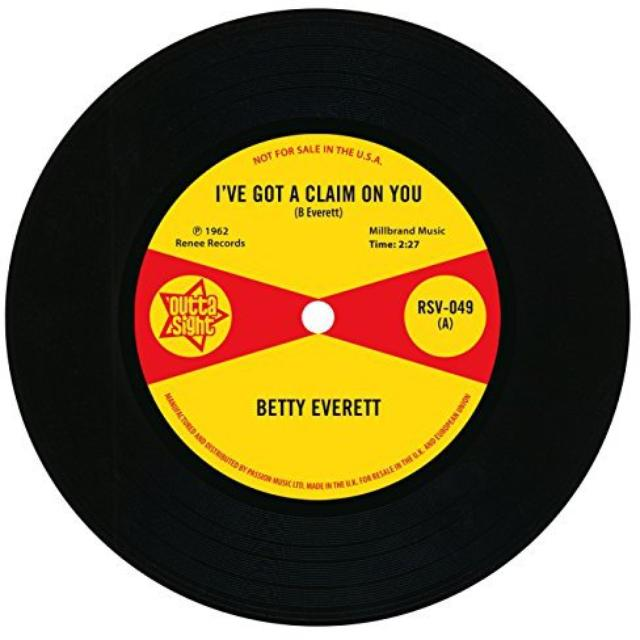 Juanita Nixon & Betty Everett I'VE GOT A CLAIM ON YOU/STOP KNOCKIN' Vinyl Record