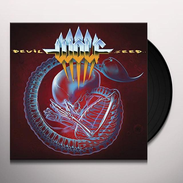 Wolf DEVIL SEED Vinyl Record - UK Release