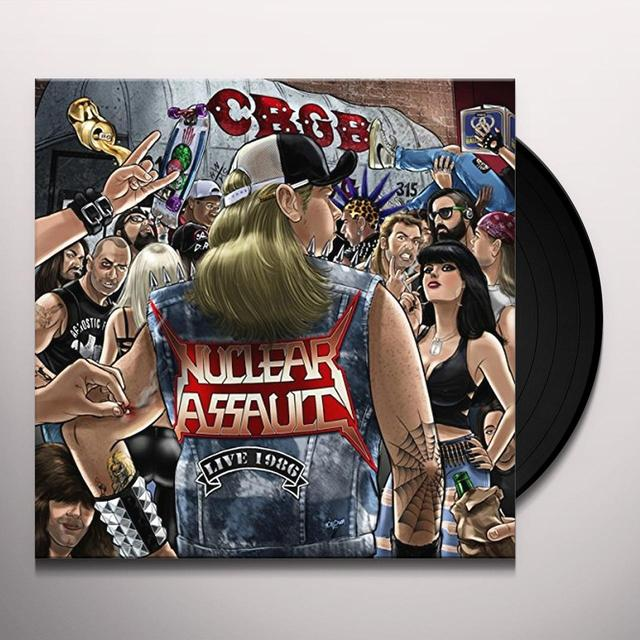 Nuclear Assault LIVE AT CBGBS-PIC DISC Vinyl Record - UK Import