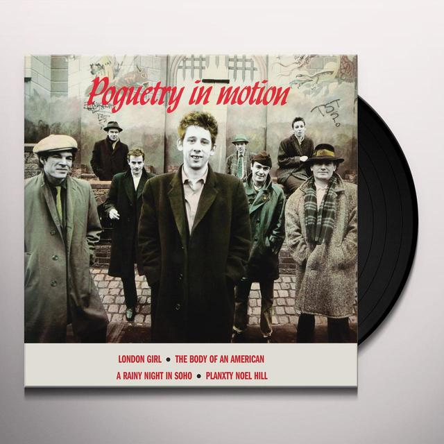 The Pogues POGUETRY IN MOTION Vinyl Record - UK Release