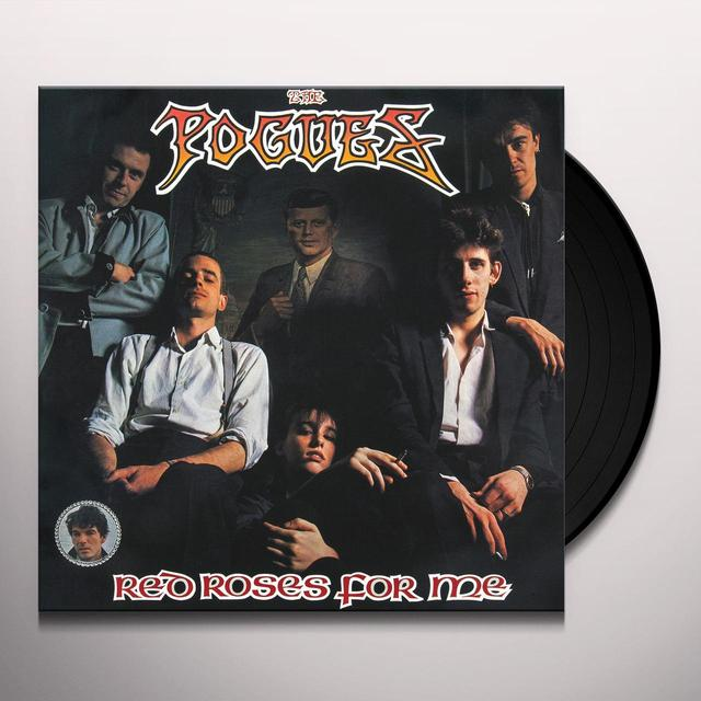 The Pogues RED ROSES FOR ME Vinyl Record - UK Import