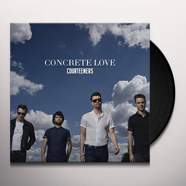 Courteeners CONCRETE LOVE Vinyl Record - UK Release