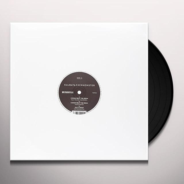 Kalbata & Mixmonster CONGO BEAT THE DRUM Vinyl Record - UK Import