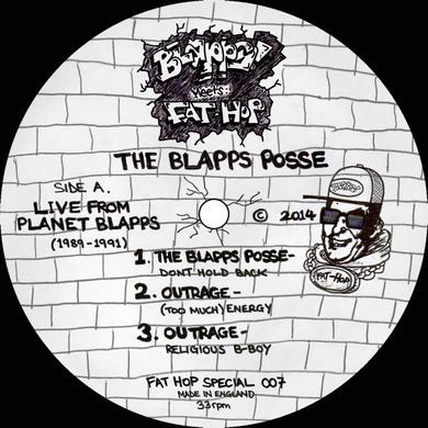 Blapps Posse LIVE FROM PLANET BLAPPS 1989-91 Vinyl Record