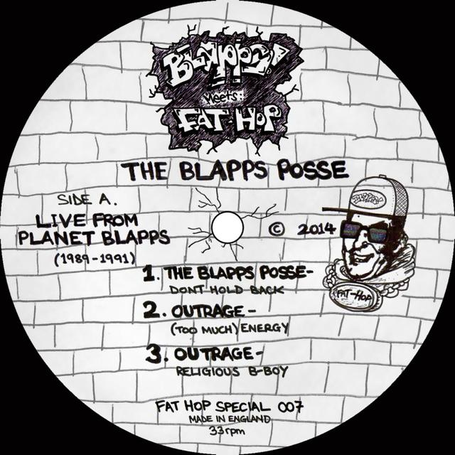 Blapps Posse LIVE FROM PLANET BLAPPS 1989-91 Vinyl Record