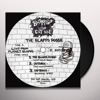Blapps Posse LIVE FROM PLANET BLAPPS 1989-91 Vinyl Record - UK Import