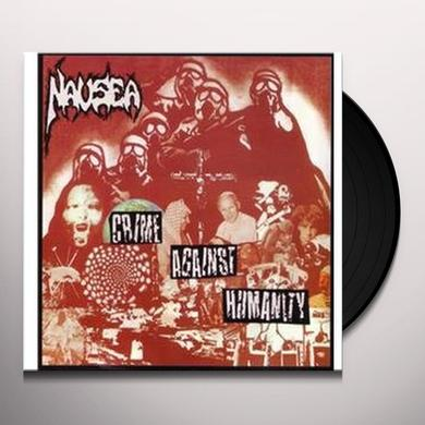 Nausea CRIME AGAINST HUMANITY Vinyl Record