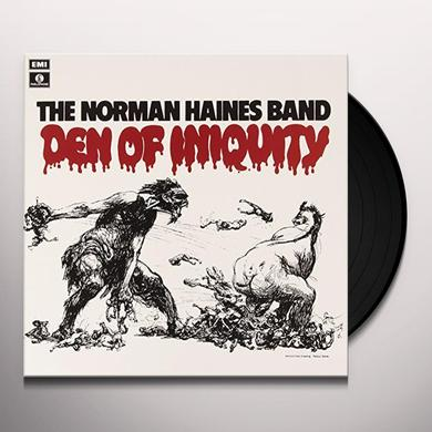 Haines Band Norman DEN OF INIQUITY Vinyl Record