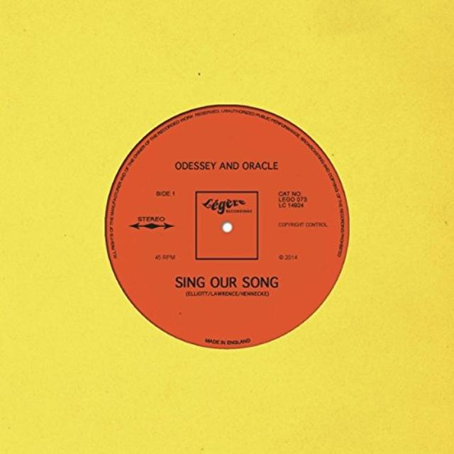 Odessey & Oracle SING OUR SONG Vinyl Record - UK Release