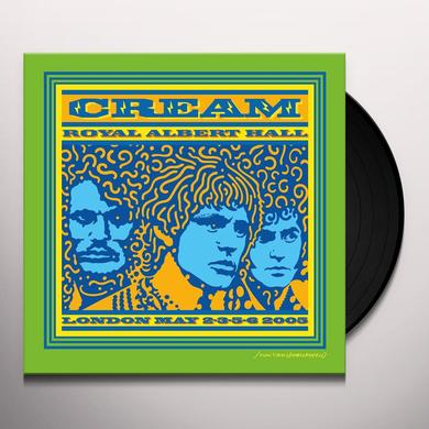 Cream ROYAL ALBERT HALL 2005 Vinyl Record