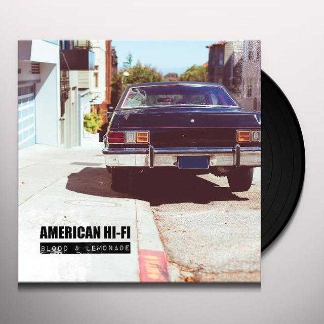 American Hi-Fi BLOOD & LEMONADE Vinyl Record