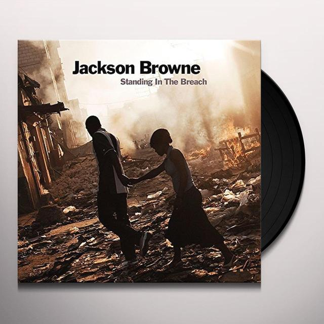 Jackson Browne STANDING IN THE BREACH Vinyl Record - 180 Gram Pressing