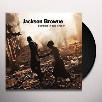 Jackson Browne STANDING IN THE BREACH Vinyl Record - 180 Gram Pressing