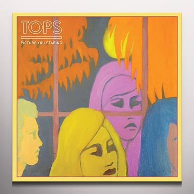 Tops PICTURE YOU STARING Vinyl Record - Colored Vinyl, Limited Edition