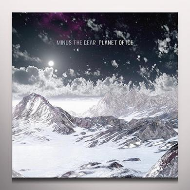Minus The Bear PLANET OF ICE Vinyl Record - Colored Vinyl, Digital Download Included