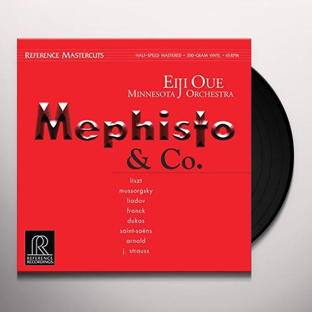 Liszt / Oue / Minnesota Orch MEPHISTO & CO. Vinyl Record - Gatefold Sleeve