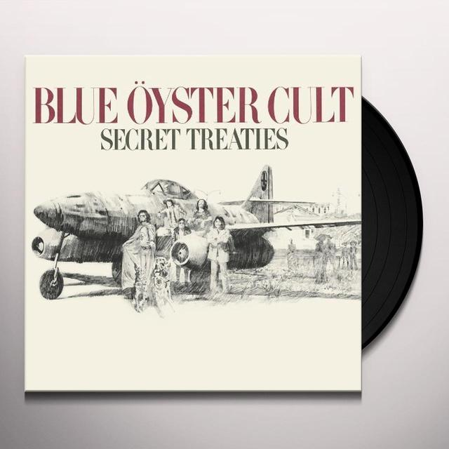 Blue Oyster Cult SECRET TREATIES Vinyl Record - 180 Gram Pressing