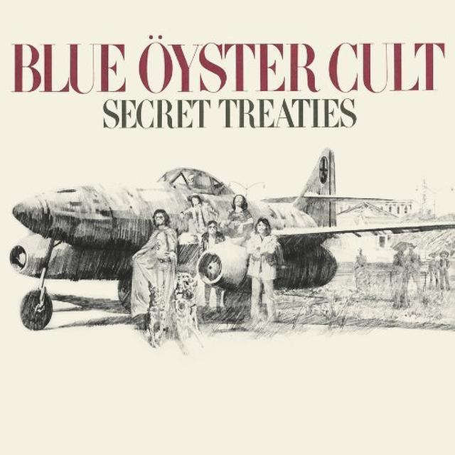 Blue Oyster Cult SECRET TREATIES Vinyl Record - 180 Gram Pressing