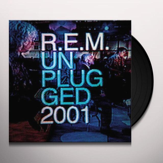 R.E.M. MTV UNPLUGGED 2001 Vinyl Record