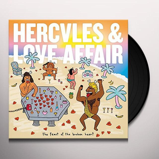Hercules & Love Affair FEAST OF THE BROKEN HEART Vinyl Record